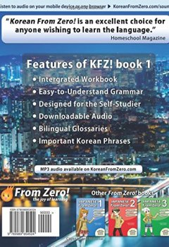 Abdeckungen Korean From Zero! 1: Master the Korean Language and Hangul Writing System with Integrated Workbook and Online Course