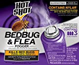 Hot Shot 95911 Bedbug and Flea Fogger, 3-Count
