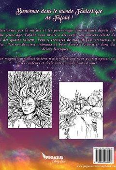 Livres Couvertures de Livre de coloriage pour adulte: Les 4 Saisons Fantastiques