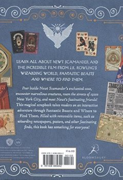 Livres Couvertures de Fantastic Beasts and Where to Find Them - Newt Scamander: A Movie Scrapbook (ANGLAIS)