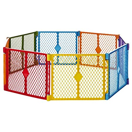 North States Superyard Colorplay 8 Panel Playard from North States