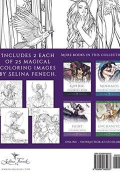 Livres Couvertures de Night Magic - Gothic and Halloween Coloring Book