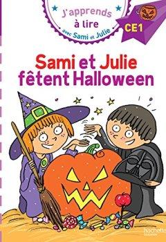 Livres Couvertures de Sami et Julie CE1 Sami et Julie fêtent Halloween