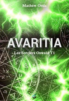 Livres Couvertures de Avaritia: Les Sorciers Oswald 1