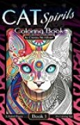 Cat Spirits Coloring Book: Book 1