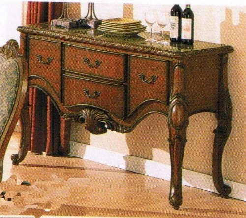 Image of Server Sideboard Brown Finish (VF_AM9009)