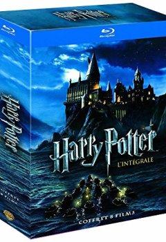 Livres Couvertures de Harry Potter - l'Intégrale des 8 Films - Le mon de des Sorciers de J.K. Rowling - Coffret Blu-Ray