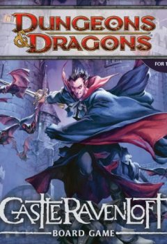 Livres Couvertures de Dungeons & Dragons  - 207790000 - Castle Ravenloft