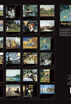 Livres Couvertures de Calendrier mural Impressionnistes 2017