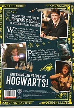 Portada del libro deHarry Potter Hogwarts. A Cinematic Yearbook