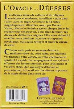 Livres Couvertures de L'oracle des déesses
