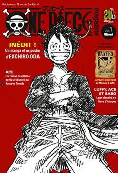 Livres Couvertures de One Piece Magazine - Tome 01