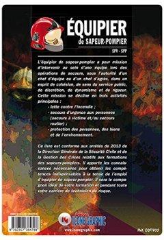 Livres Couvertures de livre Equipier de Sapeur-Pompier SPV-SPP