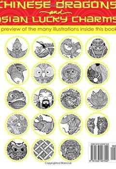 Livres Couvertures de ANTI STRESS Livre De Coloriage Pour Adultes: Dragons Chinois Et Portes-Bonheur Asiatiques