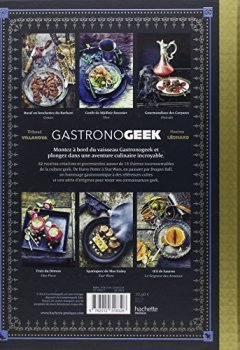 Livres Couvertures de Gastronogeek: 42 recettes inspirées des cultures de l'imaginaire