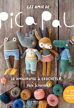 Livres Couvertures de Les amis de Pica Pau: 20 amigurumis à crocheter