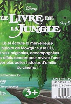 Livres Couvertures de Le livre de la jungle, MON PETIT LIVRE-CD