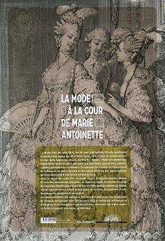 Livres Couvertures de La mode à la cour de Marie-Antoinette