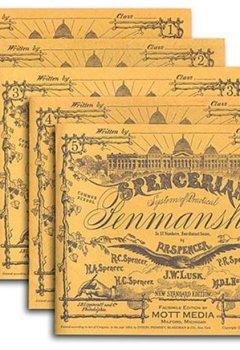 Livres Couvertures de Spencerian Penmanship Set of 5 Copybooks
