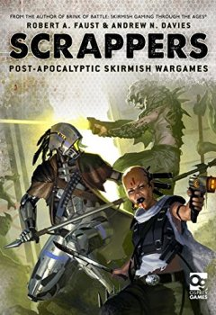 Livres Couvertures de Scrappers: Post-Apocalyptic Skirmish Wargames