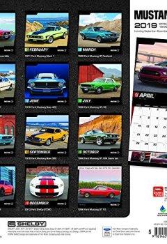 Livres Couvertures de Mustang 2019 Calendar