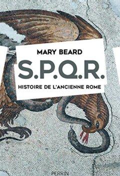 Livres Couvertures de SPQR. Histoire de l'ancienne Rome.