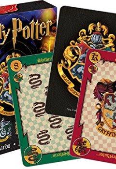 Livres Couvertures de Harry Potter Crests - Set de 52 Cartes (nm 52357)