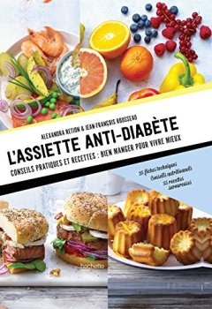 Livres Couvertures de L'assiette anti-diabète
