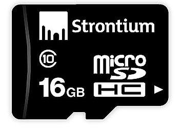 strontium memory card