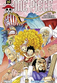 Livres Couvertures de One piece - Edition originale Vol.80