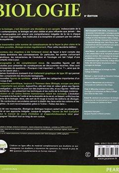 Livres Couvertures de Biologie