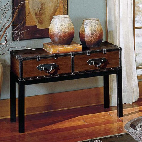 Image of Steve Silver Voyage Trunk Console Table (VY200S)