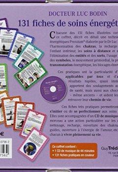 Livres Couvertures de 131 fiches de soins énergétiques (1CD audio)