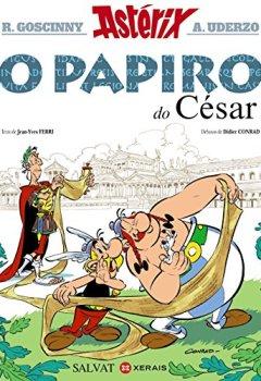 Portada del libro deAsterix. O Papiro Do Cesar (Infantil E Xuvenil - Cómics)