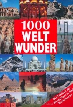 Buchdeckel von 1000 Weltwunder (Bookmart)