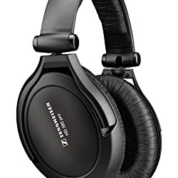 Sennheiser HD 380 Pro Collapsible High End Over-Ear Headset for Professional Monitoring Use