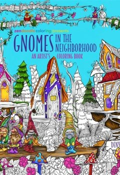 Livres Couvertures de Gnomes in the Neighborhood: An Artist's Coloring Book