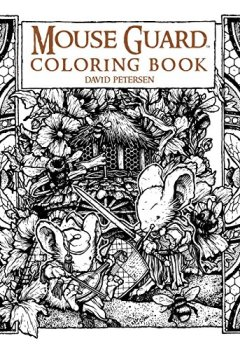 Livres Couvertures de Mouse Guard Coloring Book