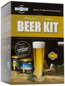 Mr. Beer Kit home brewing setup kit