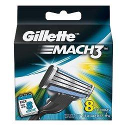 Gillette Mach3 Blades 8 Cartridges @Rs.550