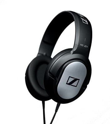 Sennheiser HD201 Lightweight Binaural Over-Ear Headphone