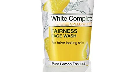 Garnier Skin Naturals White Complete Facewash, 100ml with Free Gold Plated Estelle Earnings