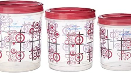 Princeware Twister Package Container, Set of 3