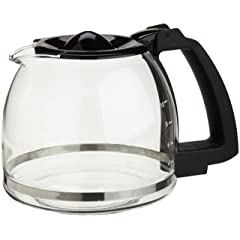 Capresso 4464.01 10-Cup Glass Carafe with Lid