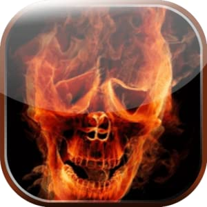 Amazon.com: Flaming Skull Live Wallpaper: Appstore for Android