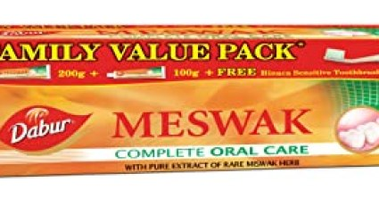 Dabur Meswak Toothpaste - 300 g (Family Pack)