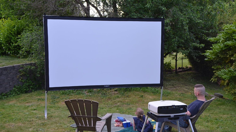 make outdoor projector screen