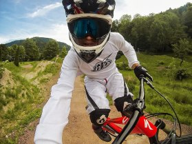 Captura de GoPro Hero en Mountain bike