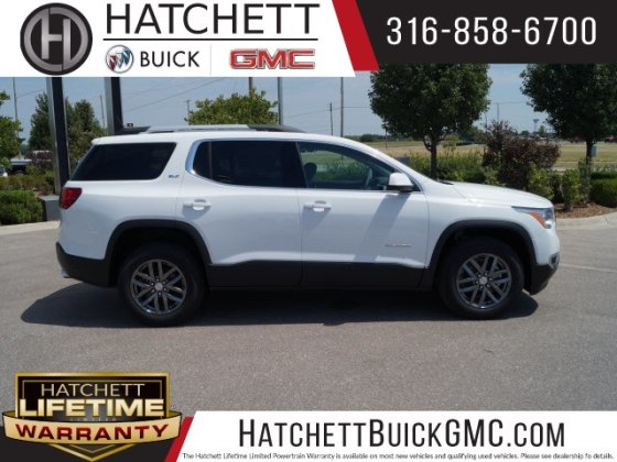 New 2019 GMC Acadia SLT 1 SUV in Wichita  T219019   Hatchett Hyundai     New 2019 GMC Acadia SLT 1