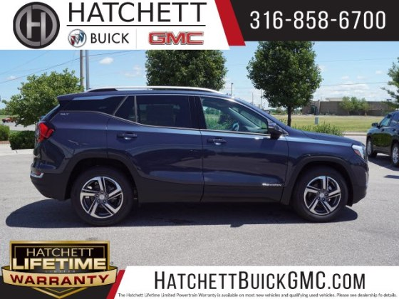 New 2018 GMC Terrain SLT SUV in Wichita  T218412   Hatchett Hyundai     New 2018 GMC Terrain SLT